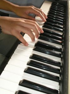 Practicing Piano 3